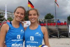 Luca und Sinah bei den Deutschen U19