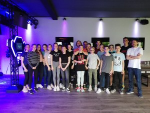 Lasertag der Volleyballjugend